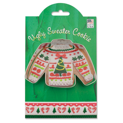 Ugly Sweater Cookie Cutter - MMC