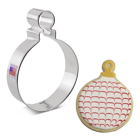 Christmas Ornament Cookie Cutter (Round)