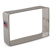 Rectangle Cookie Cutter alternate angle