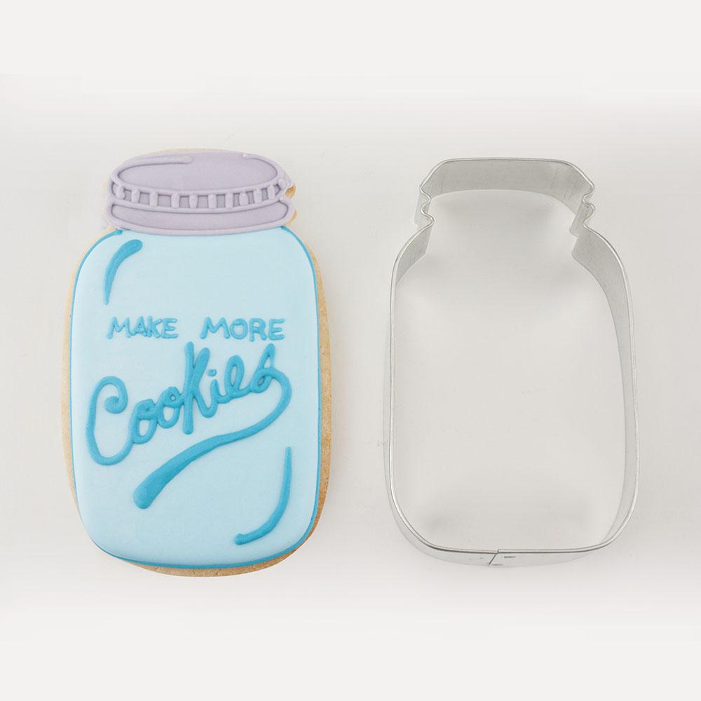 Mason Jar Cookie Cutter