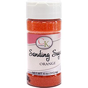 Orange Sanding Sugar by CK Products