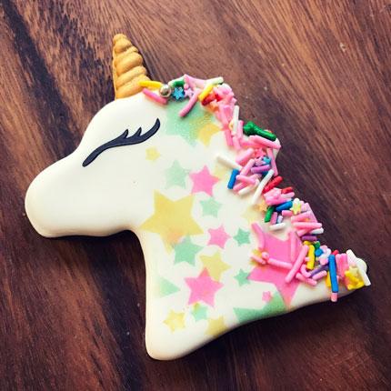 Unicorn Head Cookie Cutter