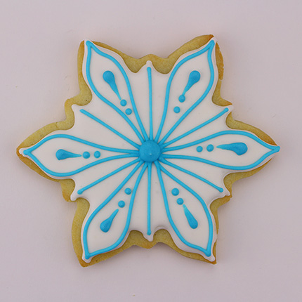 Icy Snowflake Cookie Cutter