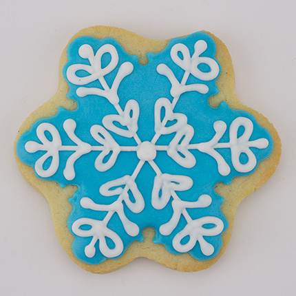 Puffy Snowflake Cookie Cutter