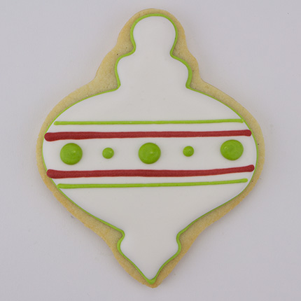 Christmas Finial Ornament Cookie Cutter