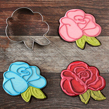 LilaLoa's Rose Cookie Cutter