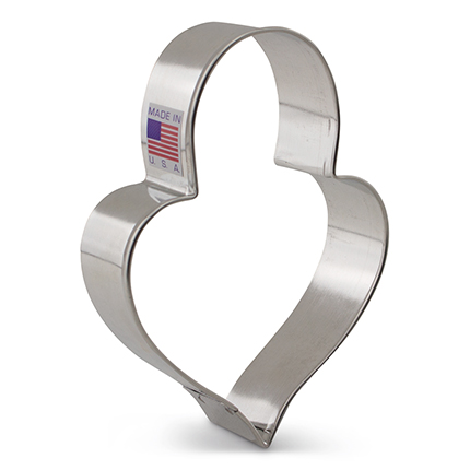 LilaLoa's Heart Padlock Cookie Cutter