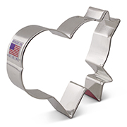 LilaLoa's Banner Heart Cookie Cutter