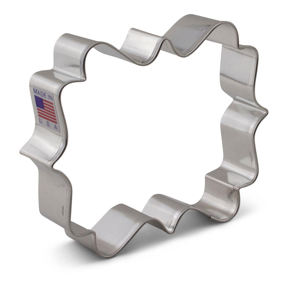 LilaLoa's Square Plaque Cookie Cutter