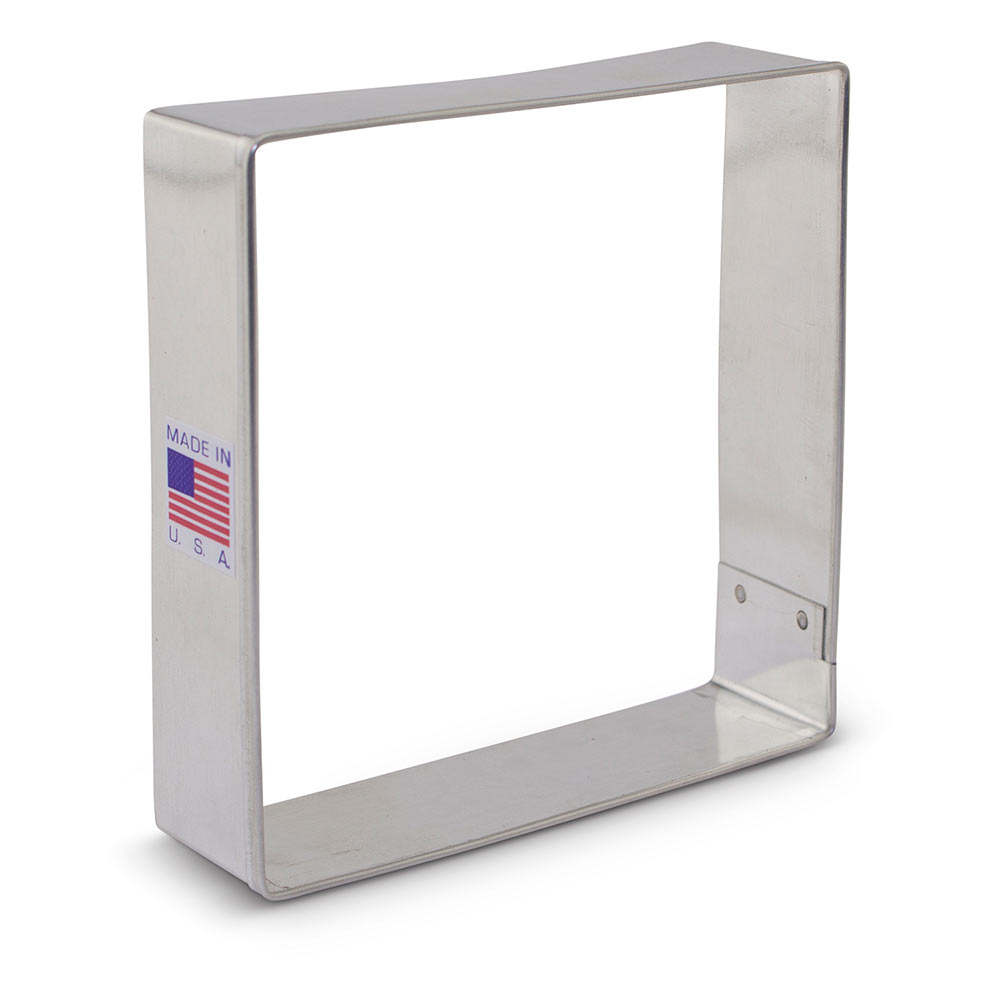 "Square 3 1/2"" Cookie Cutter"