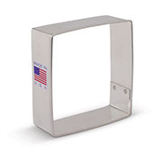 "Square 2 1/2"" Cookie Cutter"