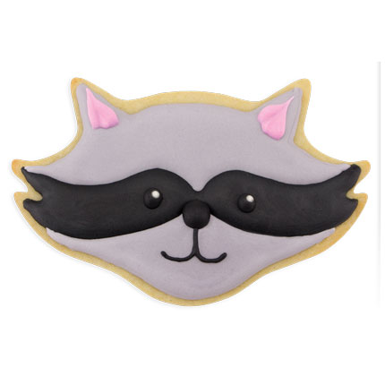 Raccoon Face Cookie Cutter