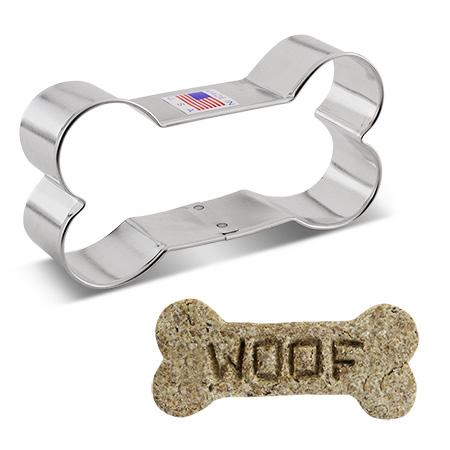 """Dog Bone Cookie Cutter, 4"""""""