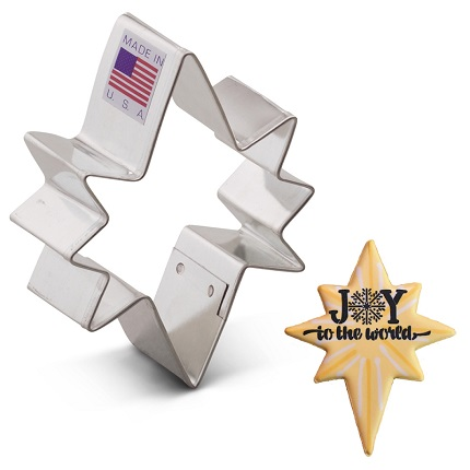Bethlehem Star Cookie Cutter