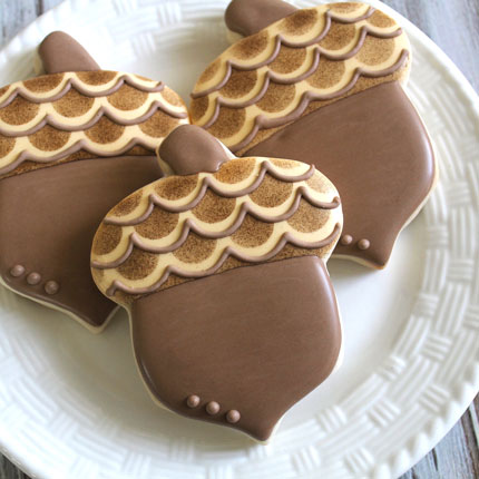 Large Acorn Cookie Cutter