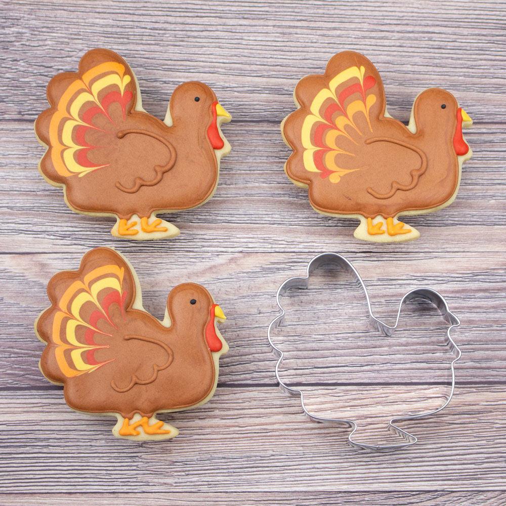 Turkey Cookie Cutter 3 63 Inch Ann Clark