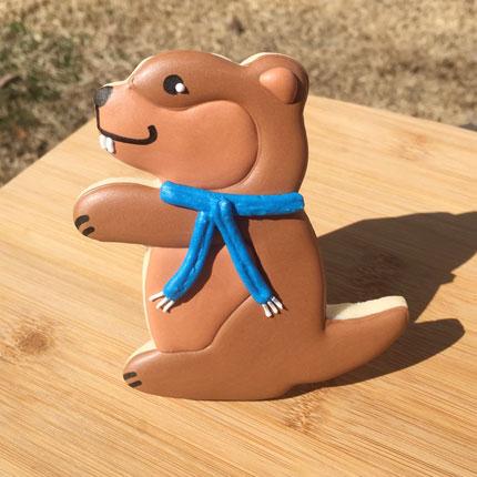 Groundhog Cookie Cutter