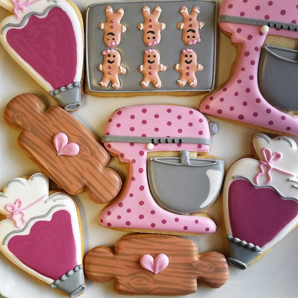 Flour Box Bakery Rolling Pin Cookie Cutter | Ann Clark