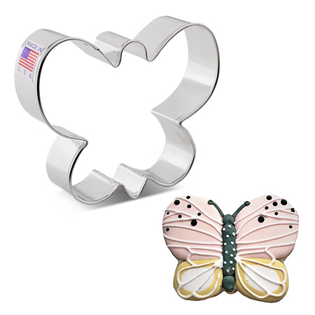 Simple Butterfly Cookie Cutter