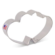 Flour Box Bakery's Double Heart Cookie Cutter
