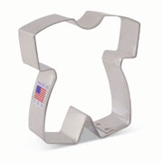 Tunde's Creations Baby Romper Cookie Cutter
