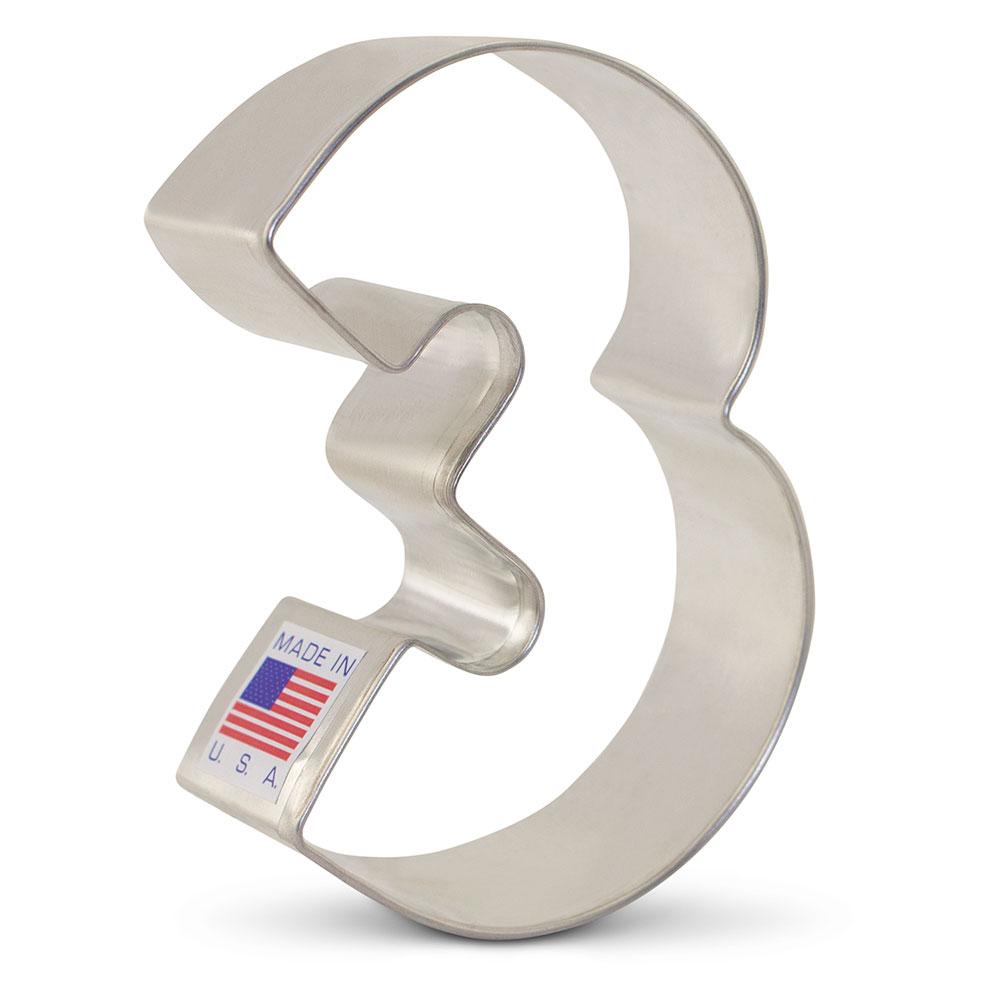 4.25 inch Ann Clark LLAMA ALPACA Metal Cookie Cutter