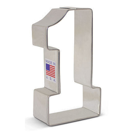 Number 1 Cookie Cutter