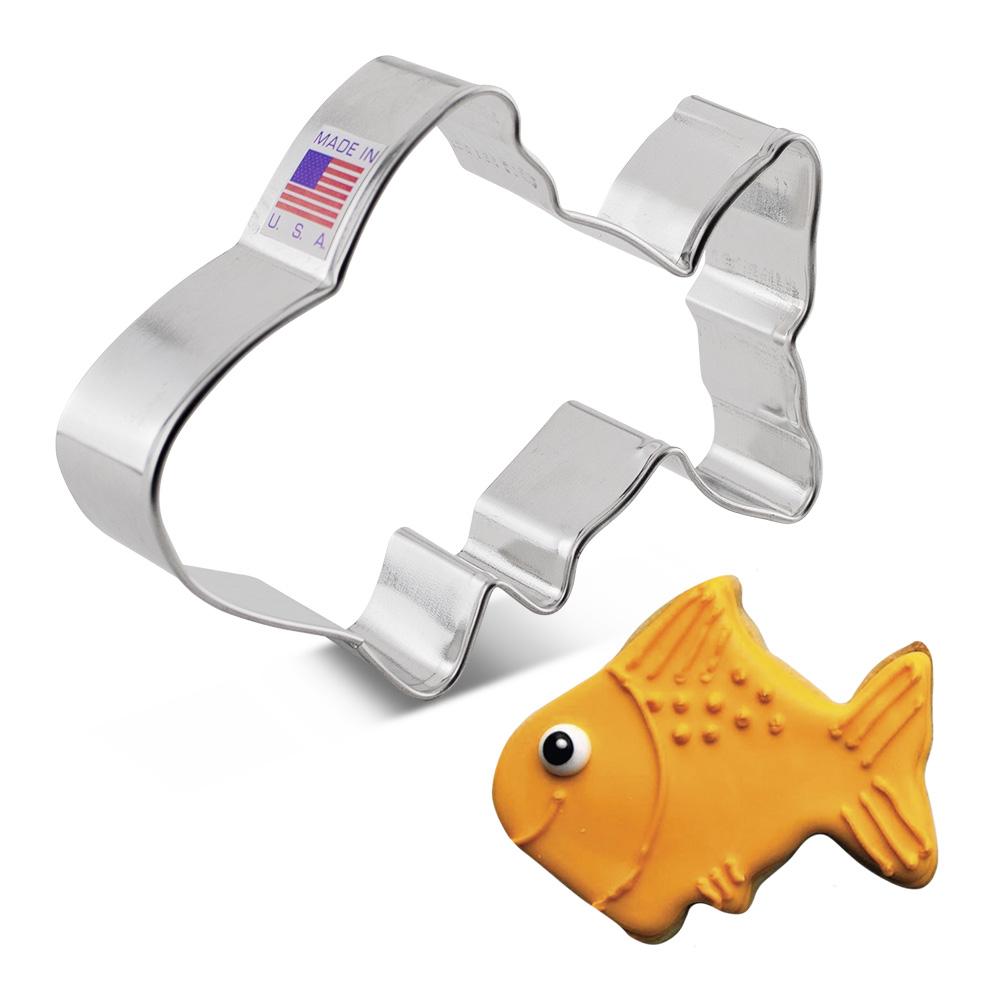 Cute Fish Cookie Cutter