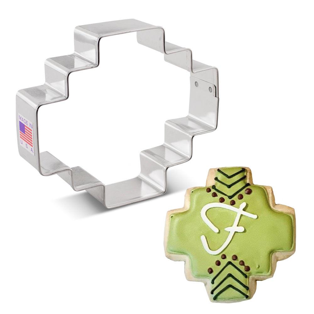 Geometric Inca Plaque Cookie Cutter