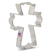 Flour Box Bakery's Large Fancy Cross Cookie Cutter