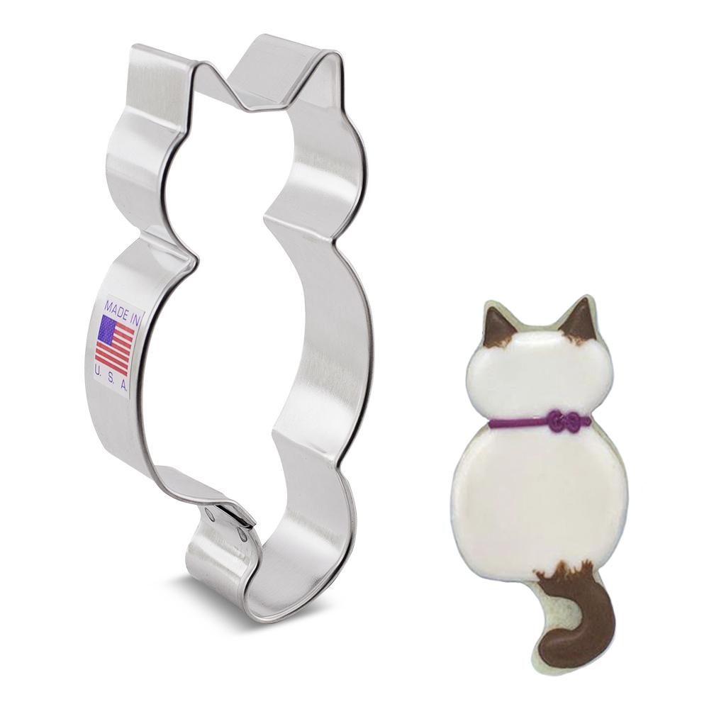 Cute Kitty Cat Cookie Cutter