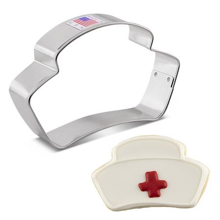 Nurse Hat Cookie Cutter, 4