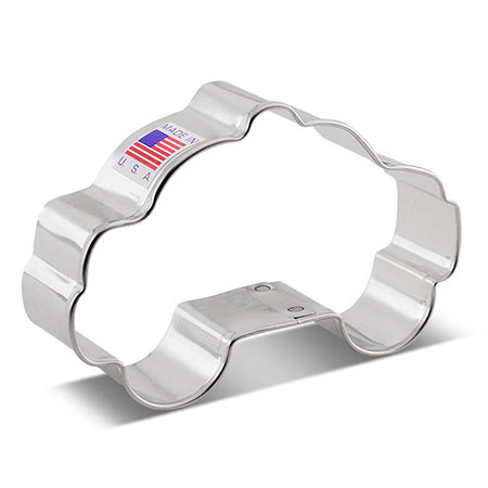 Police Car Cookie Cutter, 3.75""