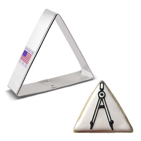 Triangle Cookie Cutter, 3""