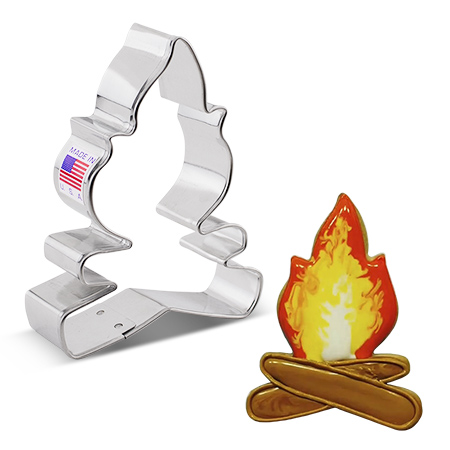 "Campfire Cookie Cutter, 4"""