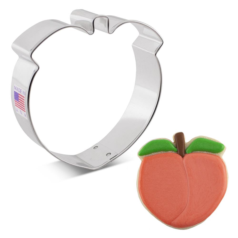 """Peach Cookie Cutter, 3.25"""""""