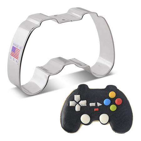 """Video Game Controller Cookie Cutter, 4"""""""