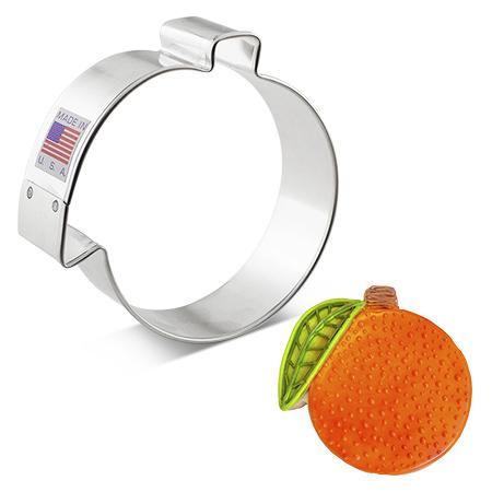 """Orange Cookie Cutter, 3.25"""""""