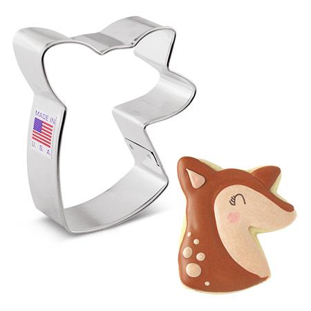"""Doe/Deer Head Cookie Cutter, 3"""""""