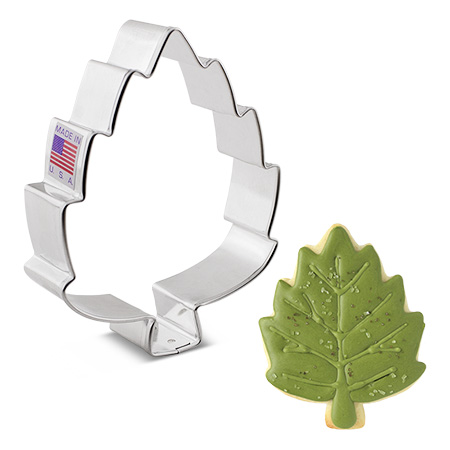"Birch Leaf Cookie Cutter, 4"""