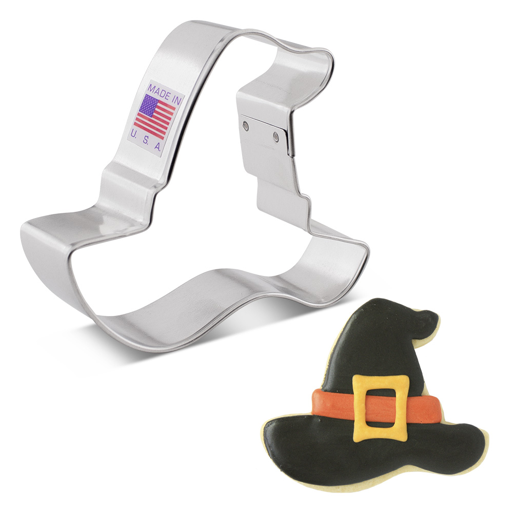 """Witch's Hat Cookie Cutter, 3"""""""