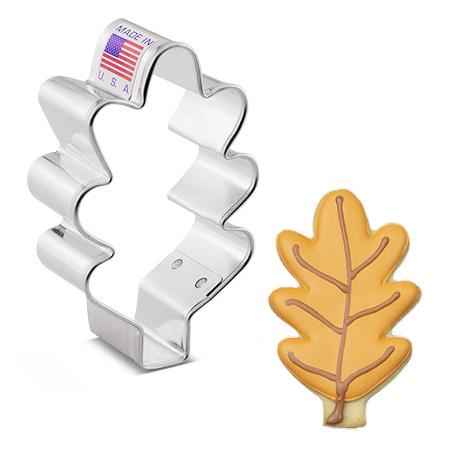 """Small Oak Leaf Cookie Cutter, 3"""""""
