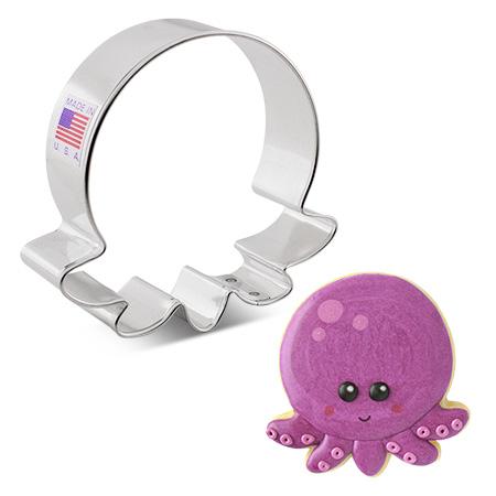 """Cute Octopus Cookie Cutter, 3"""""""