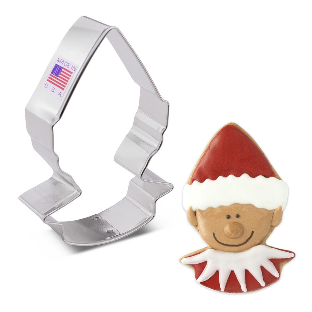 """Ann Clark Cookie Cutters Cute Elf Cookie Cutter, 4"""""""