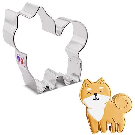"Fluffy Dog Cookie Cutter, 3.5"""