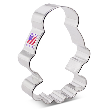 """Mrs. Claus Cookie Cutter 4"""" by Flour Box Bakery"""