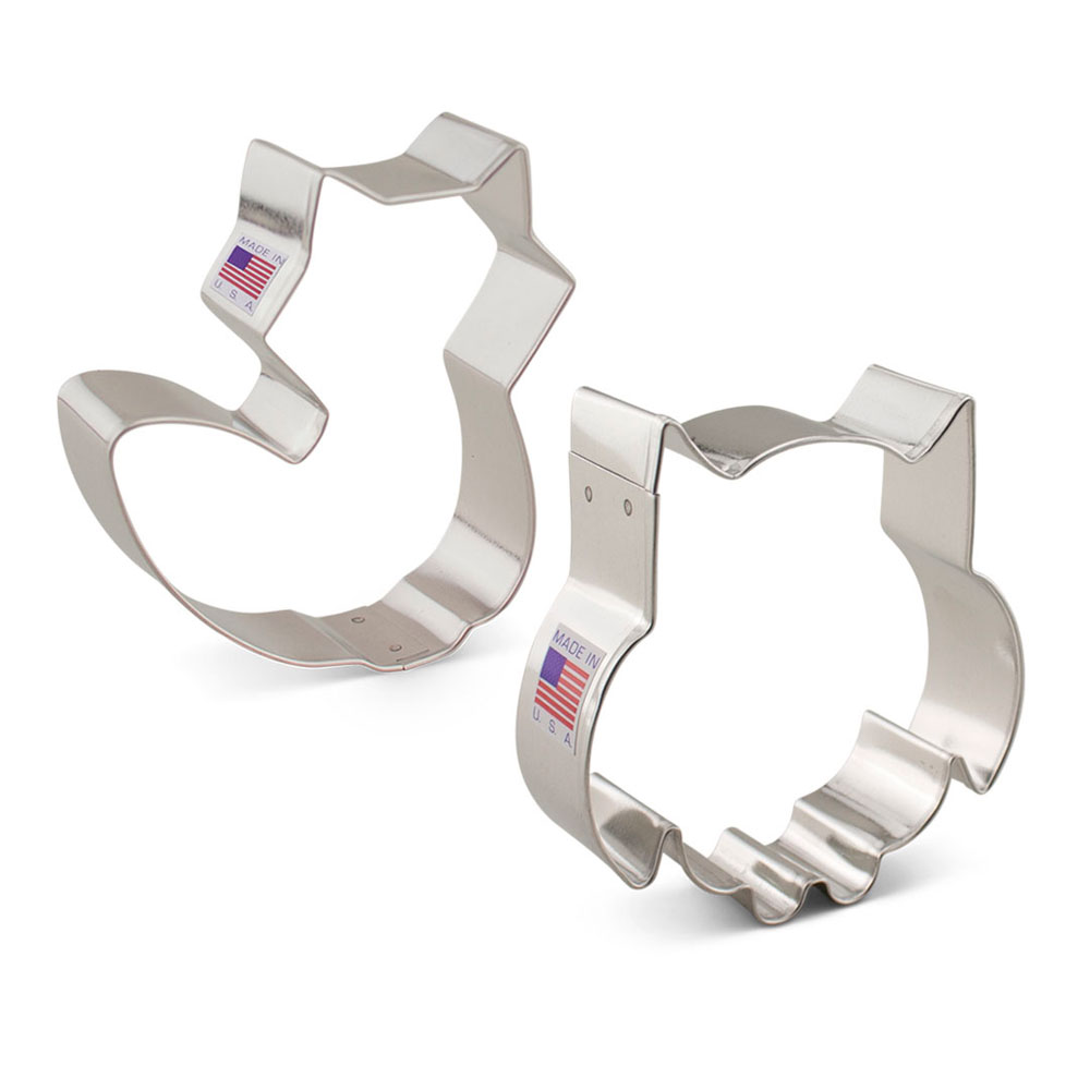 Woodland Cookie Cutter 2 pc Set