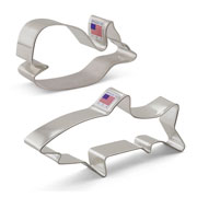 Marine Life Cookie Cutter 2 pc Set
