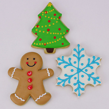 Christmas Cookie Cutter 3 pc set