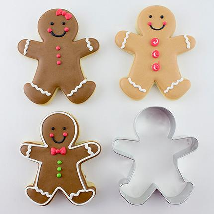 Gingerbread Man Cookie Cutter 3 pc Set